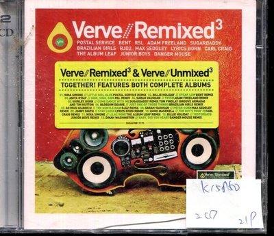 *真音樂* VERVE REMIXED 2CD 全新 K15850