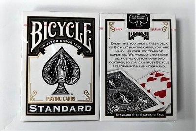 【USPCC撲克館】撲克牌 BICYCLE 808 2016黑色背紋(黑標)