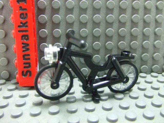 【積木1977】Lego 樂高-全新-黑色單車/ 腳踏車 (75810)