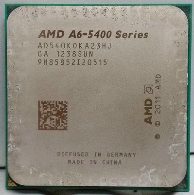{ 電腦水水的店 }~ AMD A6-5400K  /  3.6 GHz /   FM2 )腳位 CPU 直購價$450請自 新北市