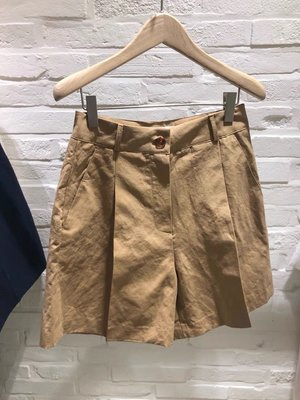 【2A Two】東大門2色 棉質高腰寬管短褲『BA430661』