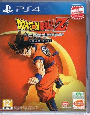 PS4遊戲 七龍珠 Z 卡卡洛特 DRAGON BALL Z: KAKAROT中文亞版