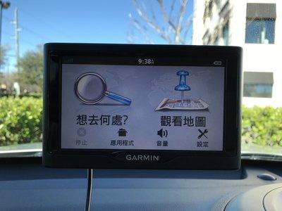 GARMIN 衛星導航出租 北美圖資 中文介面 中文語音導航 使用超簡易 租金不論幾天都一日40  押金3000