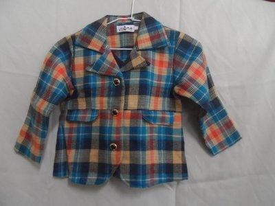 大熊舊書坊 -二手衣 童外套 寬40長50 袖長40#14-衣4