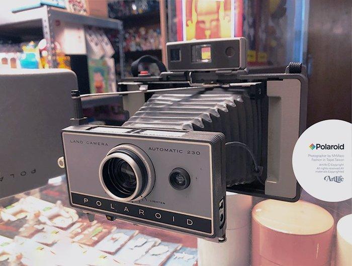 ArtLife @ Polaroid 230 LAND CAMERA Vintage 拍立得 老相機 蛇腹相機