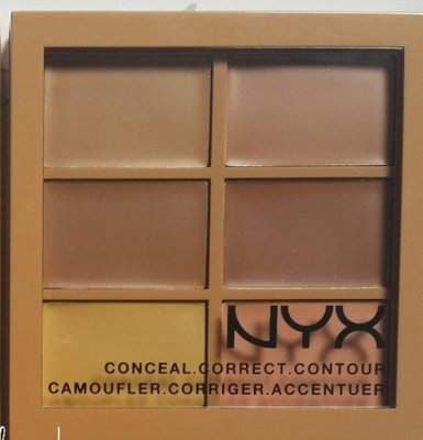 NYX [ 六色遮瑕修容/打亮膏 ] Conceal Correct Contour ~ 全新品