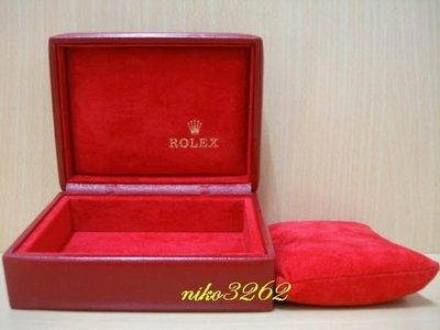 :: NiKo HoUsE ::【ROLEX 勞力士】原廠錶盒(紅色)2-2