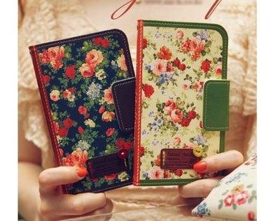 S128韓國小碎花皮套三星 S7 Edge Note 5 A8 J7手機殼手機套iphone X iphone 8 Plus iphone 6 plus