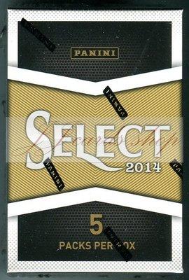 【☆ JJ卡舖 ☆】NFL 2014 Panini Select Football 美式足球 卡盒 一小盒=5包