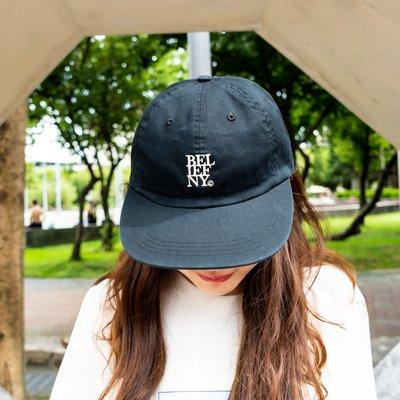 【A-KAY0】BELIEF 男女 STACKED 6 PANEL 六片帽 黑【BLF19SST6BK】