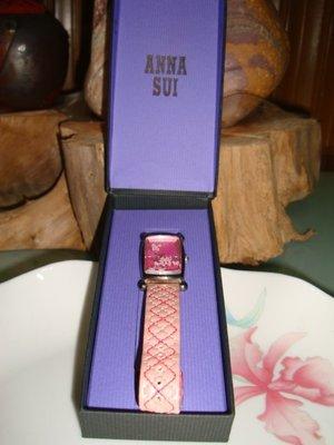 Anna Sui 粉色蝴蝶女用手錶