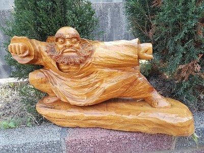 彰化二手貨中心(原線東路二手貨) --- 居家擺飾 木雕逹摩