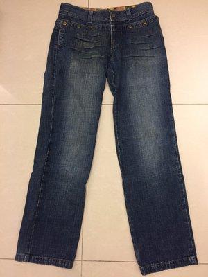 MOD Modele de Prudence Jeans 男生牛仔褲 卯釘口袋 牛仔褲 衣服 尺寸50 大直筒牛仔褲