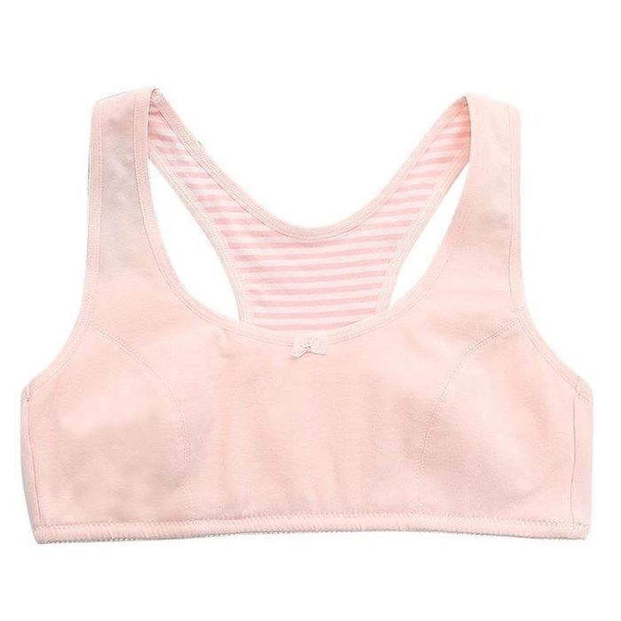 少女文胸9大童10女童11背心12純棉13小學生15歲初中生發育期內衣--潮流前線