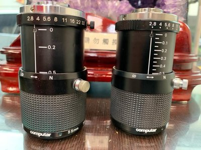 【專業中古顯微鏡】二手日本COMPUTAR 55mm TELECENTRIC 鏡頭