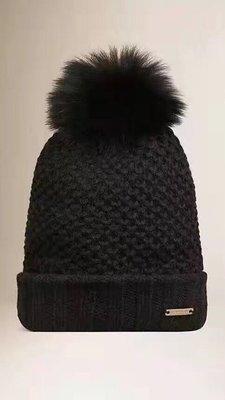 【海洋之心二館】BURBERRY 秋冬新款 羊絨帽