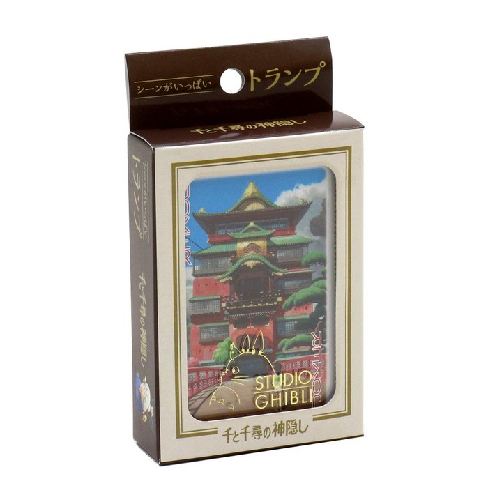 41+現貨免運費 日本製 宮崎駿 天空之城 無臉男 兩款可選 撲克牌 紙牌 遊戲牌