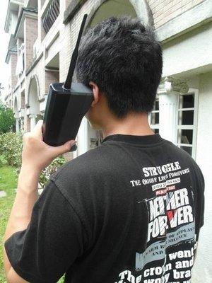 ☆手機寶藏點☆世界首隻手機 黑金剛 古董電話_Public Telephone--收藏最後機會 歡迎貨到付款#