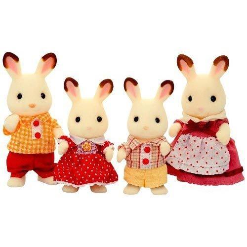 【阿LIN】14500A 可可兔家庭 森林家族 正版ST安全玩具 Sylvanian families