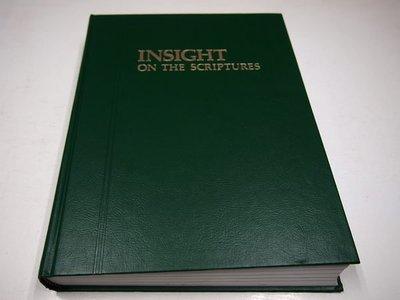 【考試院二手書】《INSIGHT ON THE SCRIPTURES》│United States OF America │八成新(B11Z66)