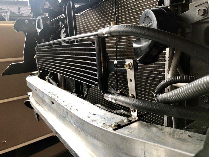 ☆光速改裝精品☆通用型 自排油冷卻器 方向機冷卻器 長型