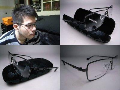 信義計劃眼鏡 Bonkers 日本潮牌鏤空金屬方框寬14.5大框 超越 雷朋 方大同 強尼戴普 盧廣仲 款