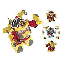SILVERLIT Robocar Poli Transforming Robot - Fireman Roy (5 inches Tall)