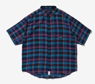 Descendant HYANNIS B.D SS SHIRT FULL SIZE 格子 格紋 短袖襯衫。太陽選物社