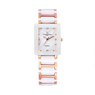 9A 61222RG-1M 愛戀櫻花半陶瓷手錶手表范倫鐵諾古柏 Valentino Coupeau