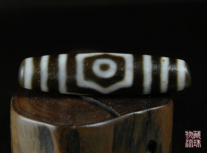 藏珠物流中心 *早期收藏**三眼天珠*55mmX13.5mm****A771