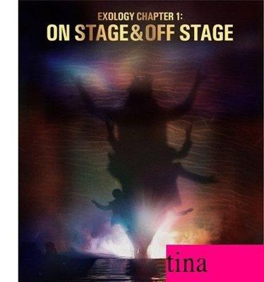 EXO EXOLOGY Chapter 1: On Stage & Off Stage韓國原版演唱會寫真集2本贈海報伯賢