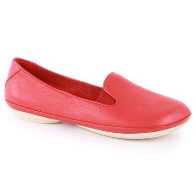 INDiCE ↗ CAMPER RIGHT 22017 女性皮革芭蕾舞鞋 熱情紅