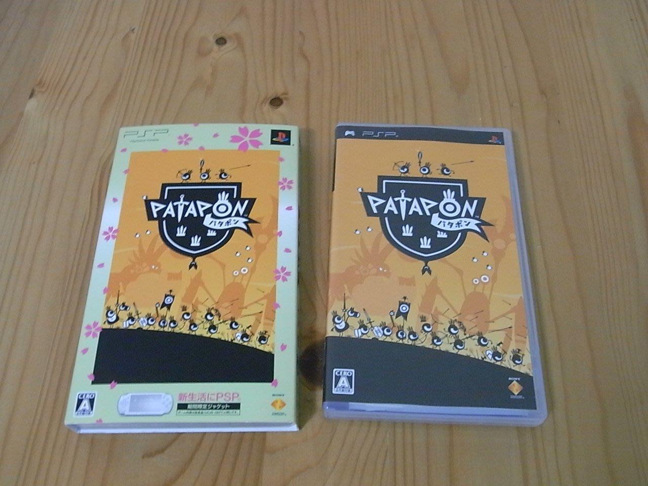 【小蕙館】PSP~ PATAPON 戰鼓啪打碰 ~ 有外紙盒 (純日版)