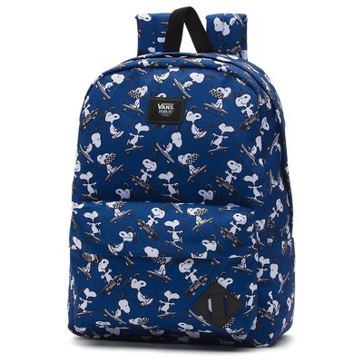 【AYW】VANS SNOOPY PEANUTS OLD SKOOL BACKPACK 藍色後背包 史努比 限量 聯名