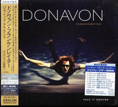 (甲上唱片) Donavon Frankenreiter - Pass It Around - 日盤+2BONUS