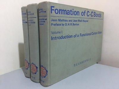 F4-5《好書321KB》Formation of C-C Bonds Volume1~3三本合售/大專用書
