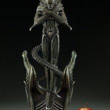 alien  1/4 55cm 高抱手異形未上色白件