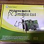 庫存新品 PCI- E LPT PORT 25pin 母頭 介面卡...