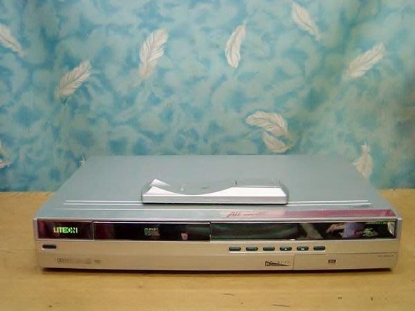 保固1年【小劉二手家電】LITEON DVD錄放影機, 可燒DVD/CD,全新雷射頭,附萬用遙控器