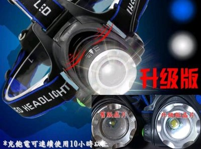 T6 頭燈(單頭燈不附電池)