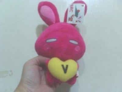 全新桃紅LOVE兔