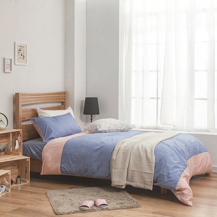 床包兩用被組 / 雙人【簡單生活系列-多色可選】含兩件枕套  100%精梳棉  戀家台灣製AAA215