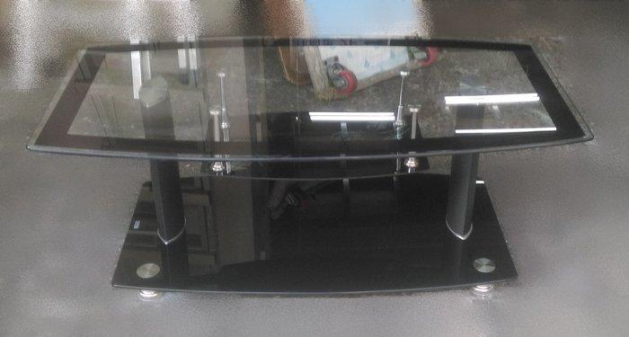 樂居二手家具 A1015BJJE 玻璃大茶几 吃飯桌 寫字桌 泡茶桌 收納桌 邊桌 餐桌 辦公桌 全新中古傢俱家電