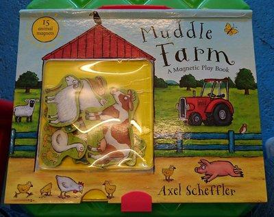 二手童書 Muddle Farm 磁鐵書