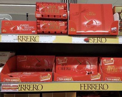 德國冬季限定 超人氣商品🍫Mon Chéri 酒釀櫻桃巧克力15入禮盒裝