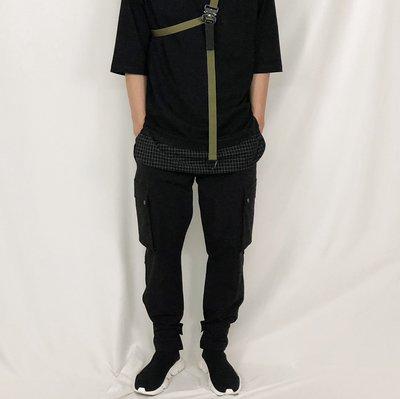 【FADE.MEET】Urban Tech 機能 運動風 acg 忍者褲 重工業風 戶外運動褲 縮口褲 Acronym男