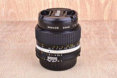 【台中品光攝影】Nikon Nikkor AiS 24mm F2 24/2 定焦 大光圈 人像 手動鏡 #28795J