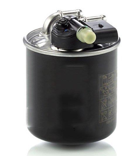(C+西加小站) BENZ W176 W246 W204 C117 W212 W213 W164 柴油燃油濾清器 柴油芯