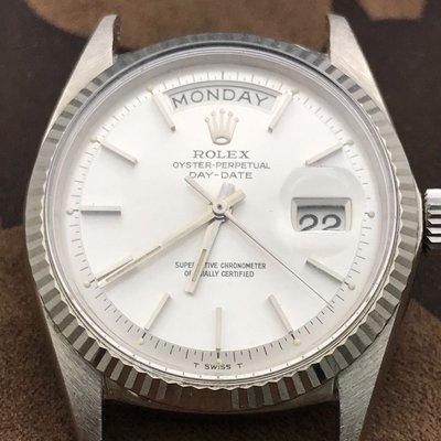 Rolex勞力士1803 WG(05/21已交誼)