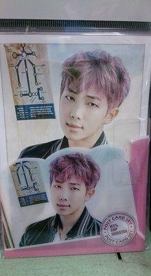 BTS Rap Monster 韓國進口明信片寫真16入 全新
